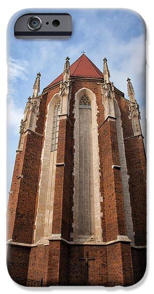 Saint Catherine iPhone Cases - Church of St. Catherine in Krakow iPhone Case by Artur Bogacki