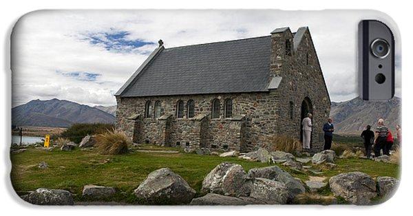 Best Sellers -  - Watson Lake iPhone Cases - Church of the Good Shepherd Lake Tekapo New Zealand iPhone Case by Jason O Watson
