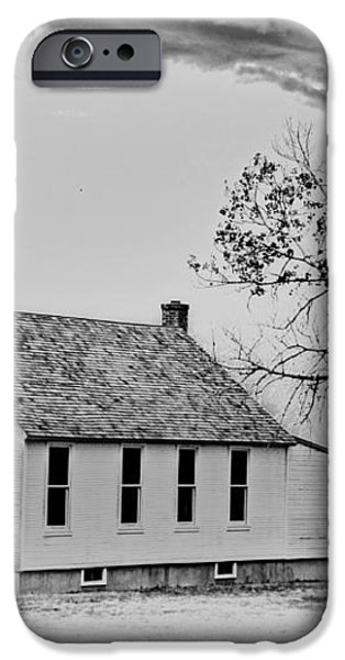 Church on the Plains iPhone Case by Marty Koch