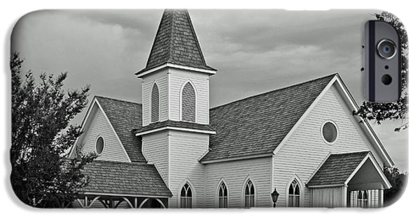 Wedding Bells iPhone Cases - Church iPhone Case by Robert Frederick