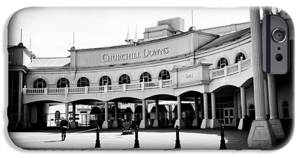 Kentucky Derby Photographs iPhone Cases - Churchill Downs iPhone Case by Tanya Harrison