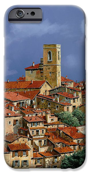 Clouds iPhone Cases - Cielo A Pecorelle iPhone Case by Guido Borelli