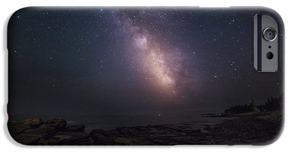 Constellations iPhone Cases - Cielo Aperto Open Sky iPhone Case by Marco Crupi