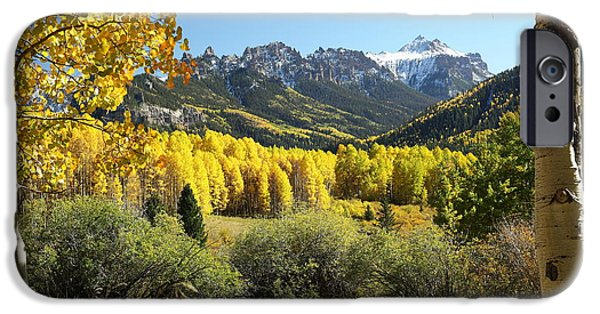 West Fork Photographs iPhone Cases - Cimarron Gold iPhone Case by Eric Glaser