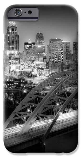 Cincinnati A New Perspective iPhone Case by Kimberly Nickoson