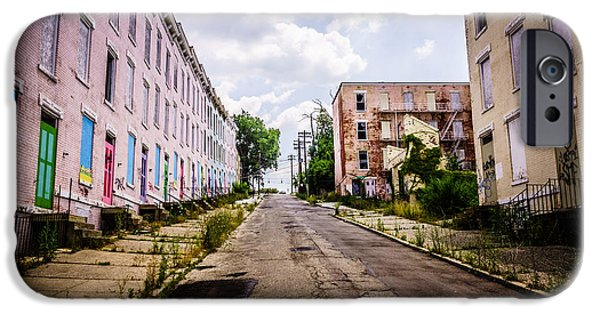 Old Photos iPhone Cases - Cincinnati Glencoe-Auburn Place Image iPhone Case by Paul Velgos