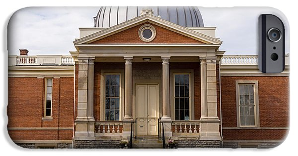 19th Century Photographs iPhone Cases - Cincinnati Observatory in Cincinnati Ohio iPhone Case by Paul Velgos