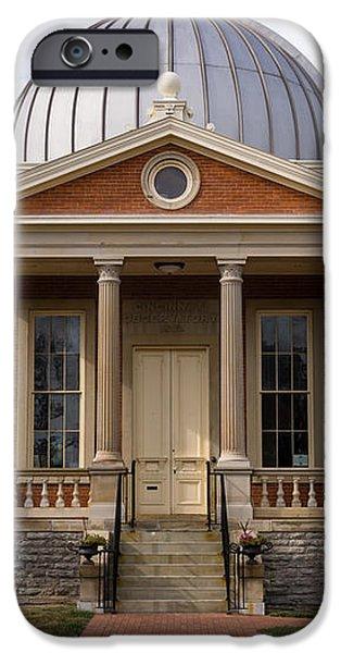 Cincinnati Observatory in Cincinnati Ohio iPhone Case by Paul Velgos