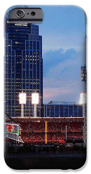 Cincinnati Skyline iPhone Case by Deborah Fay