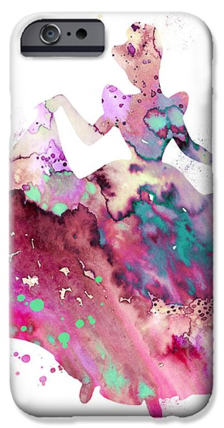 Princess iPhone Cases - Cinderella iPhone Case by Luke and Slavi