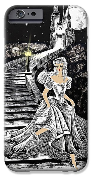 Haunted House iPhone Cases - Cinderella iPhone Case by Svetlana Sewell