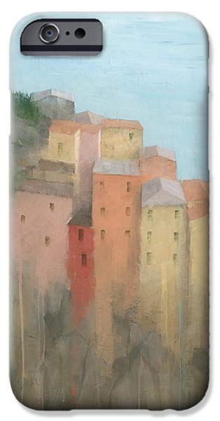Village iPhone Cases - Cinque Terre iPhone Case by Steve Mitchell