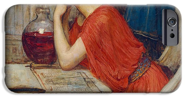 Witch iPhone Cases - Circe iPhone Case by John William Waterhouse