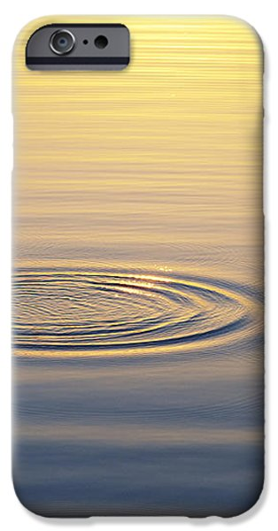 Circles at Sunrise iPhone Case by Tim Gainey