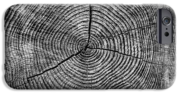Textural iPhone Cases - Circles of Time iPhone Case by Tim Gainey