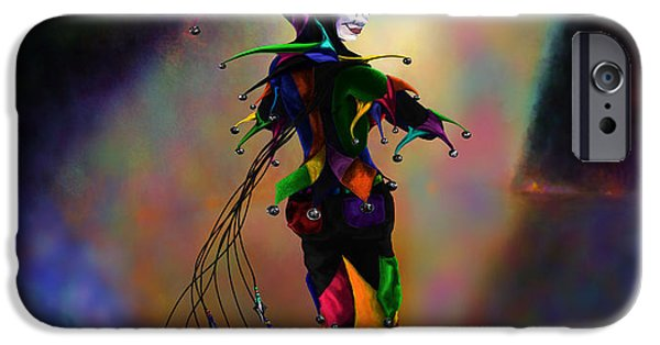 Juggling iPhone Cases - Cat O Nine Tails iPhone Case by Kd Neeley