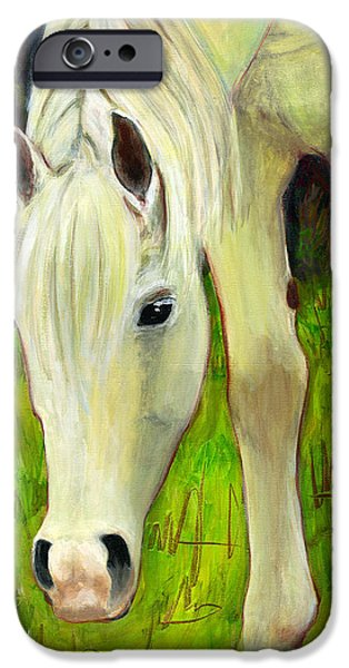 Conceptual iPhone Cases - Cisco Sees Horse Art iPhone Case by Blenda Studio