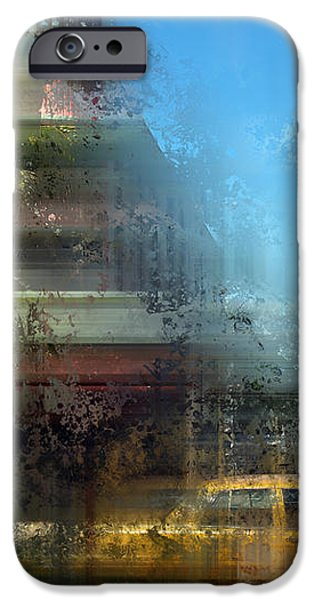 City-Art MIAMI BEACH Art Deco iPhone Case by Melanie Viola