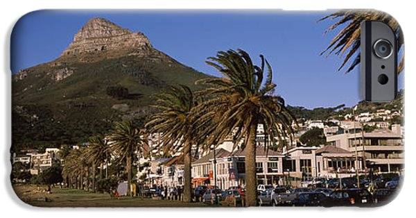 Built Structure iPhone Cases - City At The Waterfront, Lions Head iPhone Case by Panoramic Images