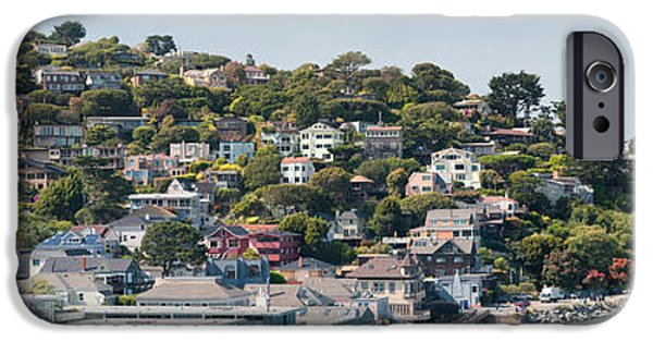Sausalito iPhone Cases - City At The Waterfront, Sausalito iPhone Case by Panoramic Images