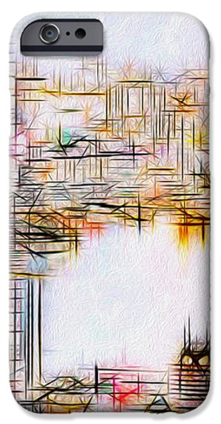 City By The Bay iPhone Case by Jack Zulli