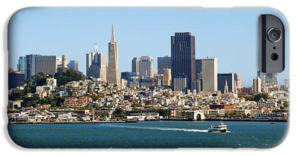 Alcatraz iPhone Cases - City by the Bay iPhone Case by Kelley King
