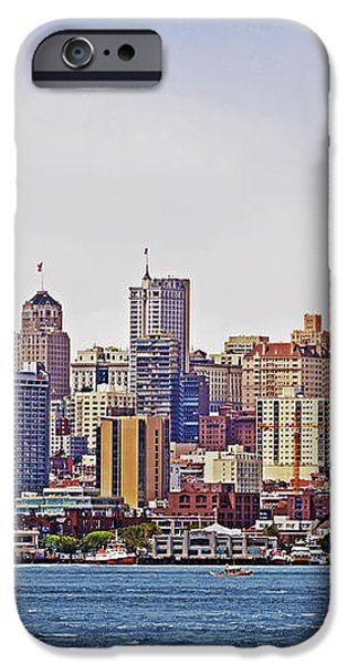 City By The Bay iPhone Case by Sindi June Short