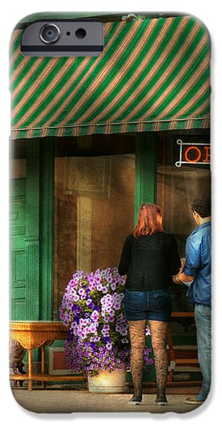 City - Canandaigua NY - Buyers delight iPhone Case by Mike Savad
