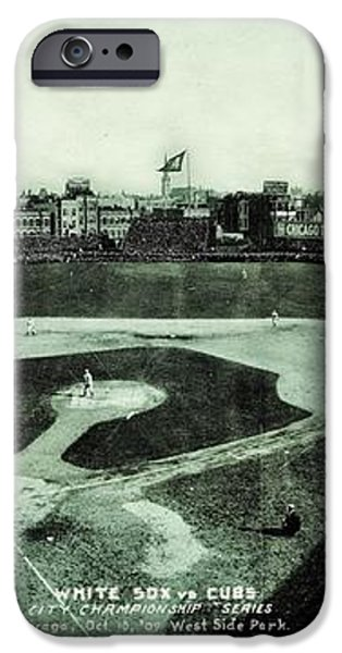 City Championship 1909 iPhone Case by Benjamin Yeager