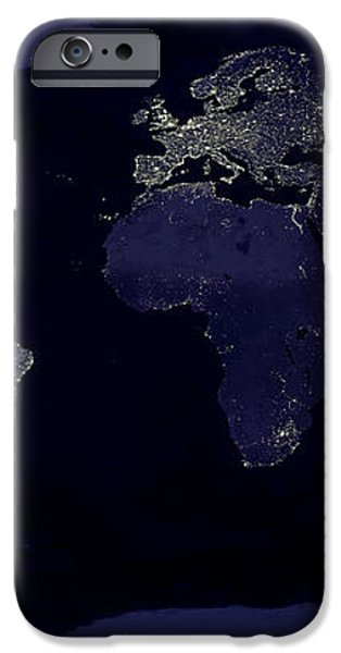 City Lights iPhone Case by Sebastian Musial