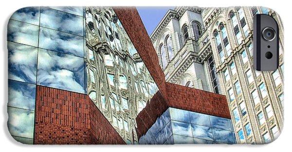 Buildings iPhone Cases - City Magic I iPhone Case by Dan Carmichael
