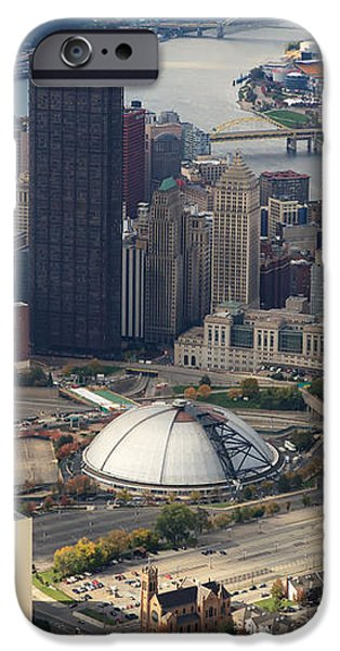 City of Champions in color iPhone Case by Emmanuel Panagiotakis