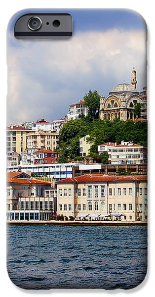 City of Istanbul Cityscape iPhone Case by Artur Bogacki