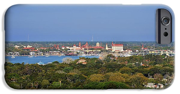 Historic Site iPhone Cases - City of St Augustine Florida iPhone Case by Christine Till