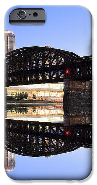 City Reflections  iPhone Case by Emmanuel Panagiotakis