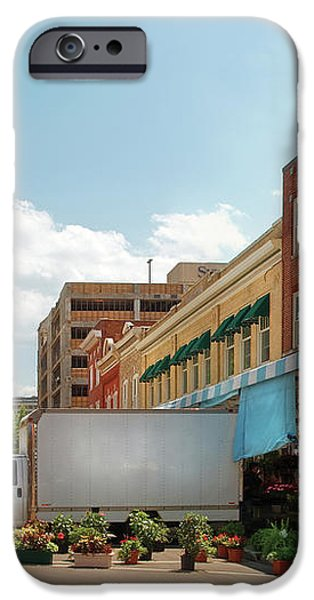 City - Roanoke VA - The City Market iPhone Case by Mike Savad
