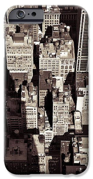 City Shadow iPhone Case by Dave Bowman