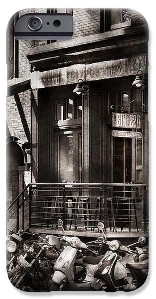 City - South Street Seaport - Bingo 220  iPhone Case by Mike Savad