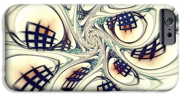 Building iPhone Cases - City Vortex iPhone Case by Anastasiya Malakhova
