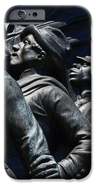 Civil War Figures iPhone Case by Paul W Faust -  Impressions of Light