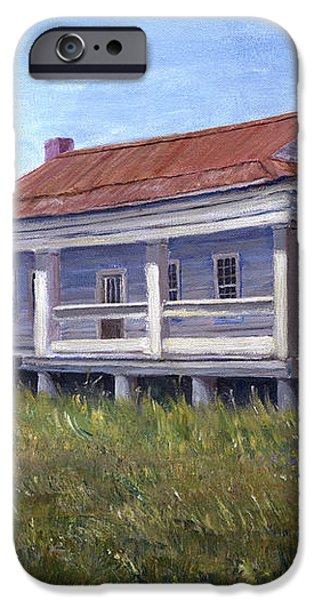 Civil War House Mansfield Louisiana iPhone Case by Lenora  De Lude