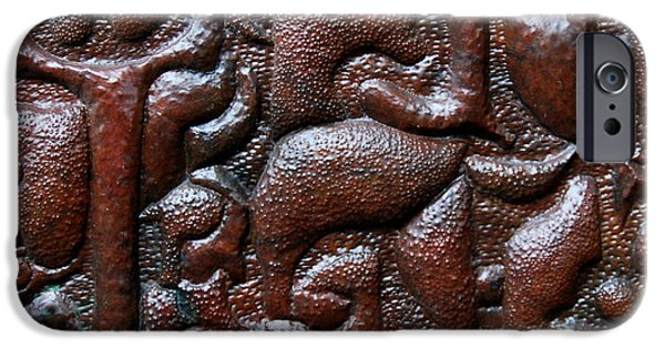 Decoration Reliefs iPhone Cases - Civilization iPhone Case by Ajay Parippally