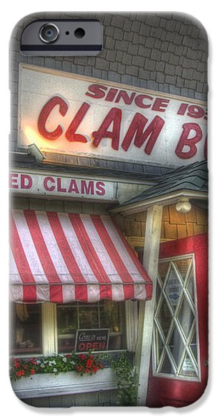 Clam Box Restaurant - Ipswich MA iPhone Case by Joann Vitali