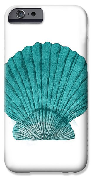 Ocean iPhone Cases - Clam iPhone Case by Randoms Print