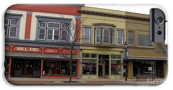 Clare Michigan iPhone Cases - Clare Michigan iPhone Case by Terri Gostola