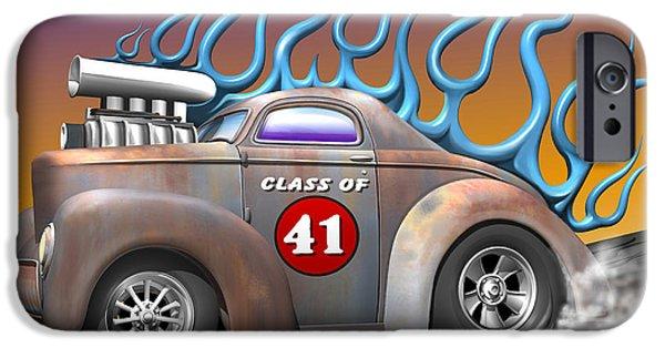 Slick iPhone Cases - Class of 41 iPhone Case by Stuart Swartz