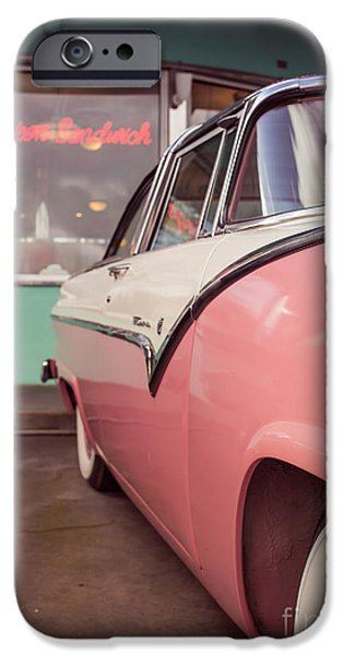 Collection iPhone Cases - American Graffiti  iPhone Case by Edward Fielding