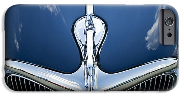 Recently Sold -  - Sheets iPhone Cases - Classic Car Blue - 09.20.08_501 iPhone Case by Paul Hasara