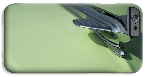 Recently Sold -  - Sheets iPhone Cases - Classic Car Green - 09.19.09_219 iPhone Case by Paul Hasara