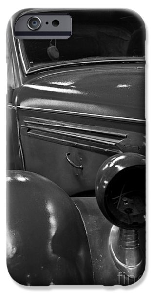 Old Cars iPhone Cases - Classic Car iPhone Case by Kirt Tisdale